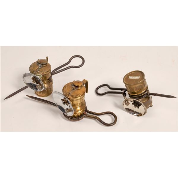 Candlestick Carbide Lamps - 3  [132871]