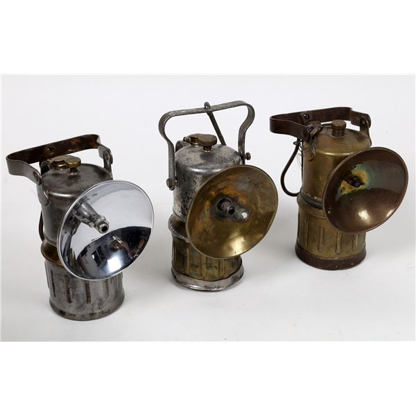 Carbide Miner's Lamps, Large - 3  [132432]