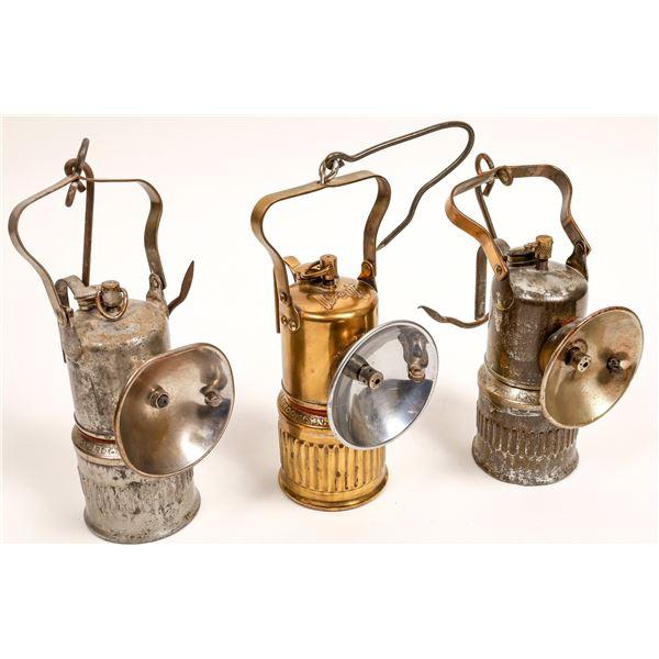 Dewar Brand Carbide Miner's Lamps - 3  [132430]
