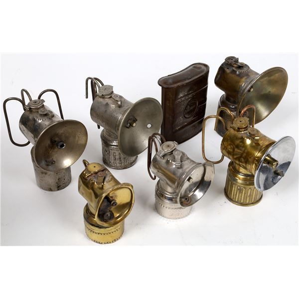 Justrite Miner's Carbide Lamp Group - 7 pcs  [132433]