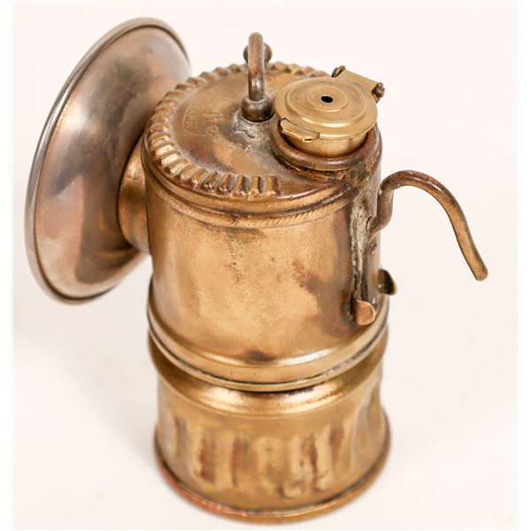 Justrite Brass Carbide Lamp - Great Condition  [132385]
