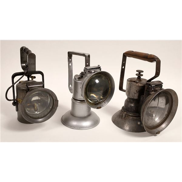 Large Carbide Signal Lamps - 3  [132429]