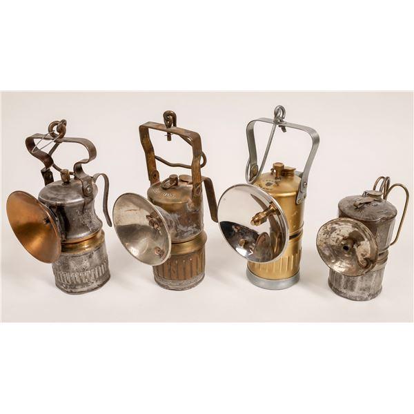 Mine Supervisor's Carbide Lamps - 4  [132435]