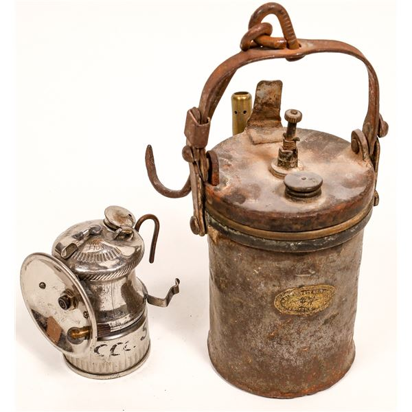 Wolf Safety Miner's Lamps - 2  [132427]