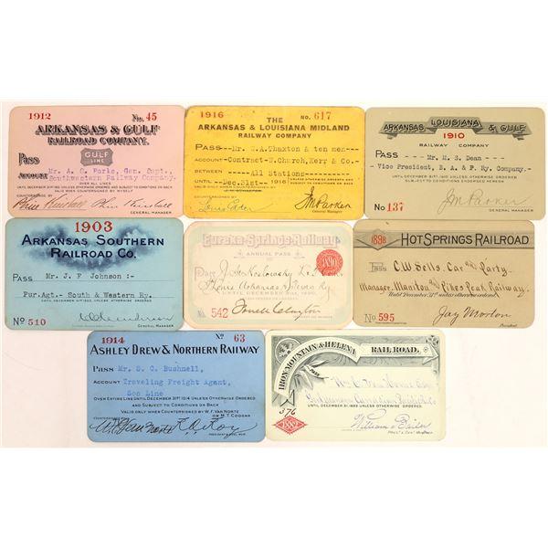 Arkansas Railroad Pass Collection  [134097]