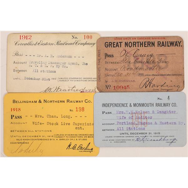 Pacific Northwest Railroad Pass Group (Oregon & Washington)  [134090]
