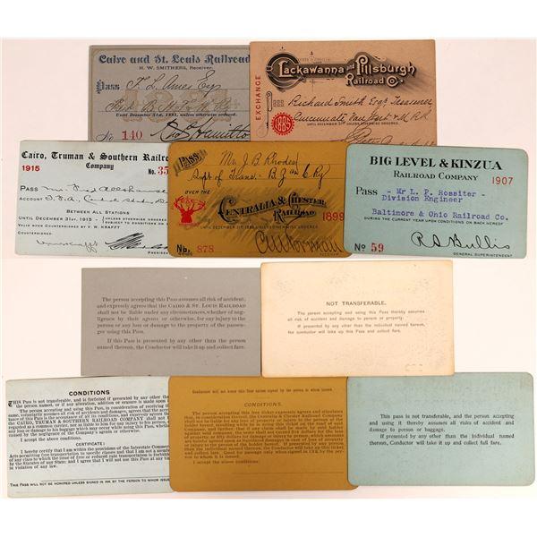 Illinois and Pennsylvania Railroad Pass Group  [134100]