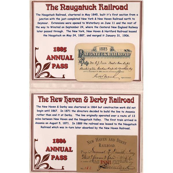 Railroad Passes - 4, 1892-1895  [133642]