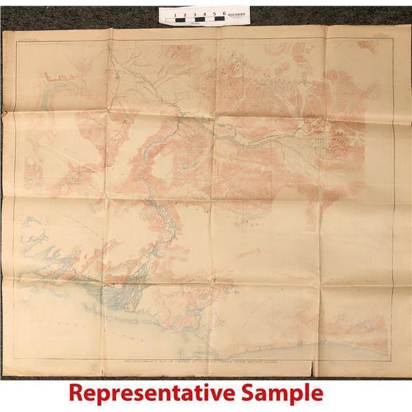 Maps of the Alaska  Railroad  [121150]