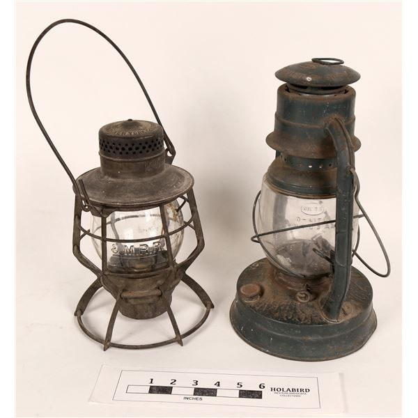 Boston & Maine Railroad Lantern & One Other  [125238]