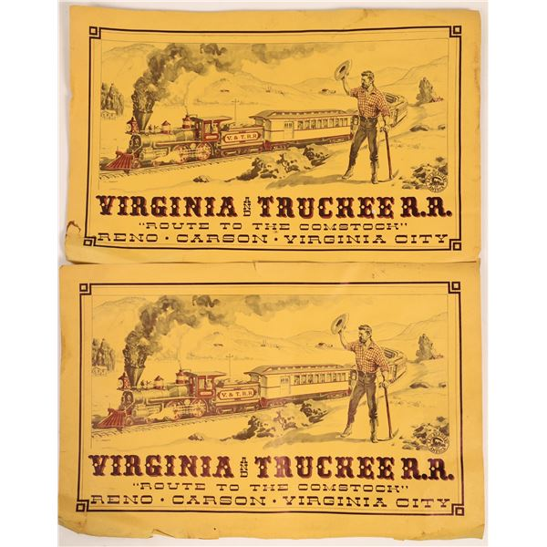 Virginia & Truckee Railroad Poster by the Railroadians of America  [133785]