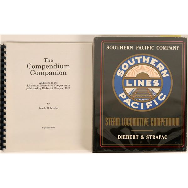 Southern Pacific Railroad Steam Locomotive Compendium Book & Extra [122288]