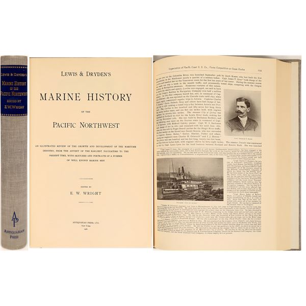Marine History of the Pacific Northwest by Lewis & Dryden  [132350]