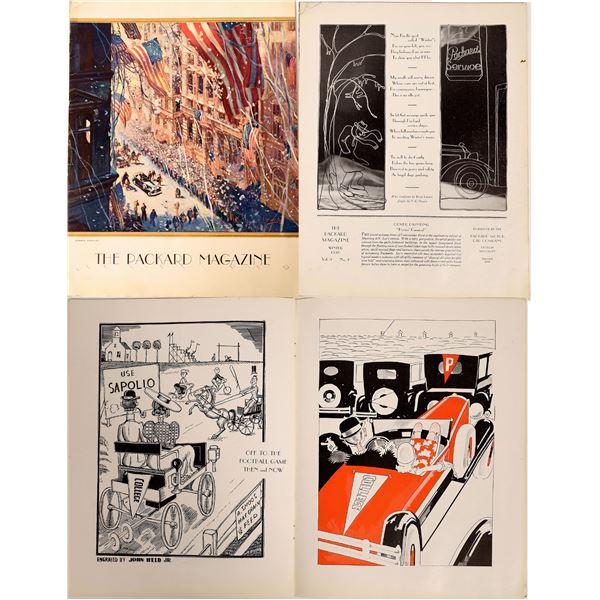 The Packard Magazine Automobile Company Publication 1930  [126995]