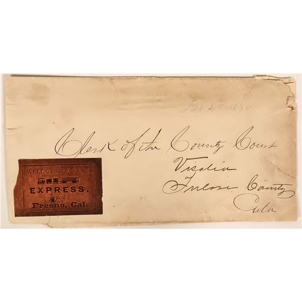 Fresno County Cover with Wells Fargo Label  [135484]