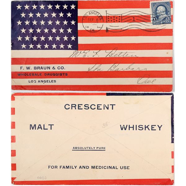F.W. Braun & Co. Wholesale Druggists Advertising Cover  [129304]