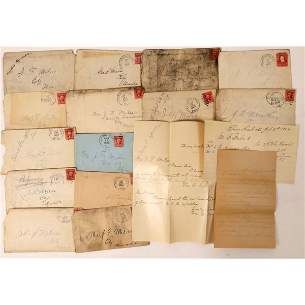 Cherry Creek Postal History Group with content  [130022]