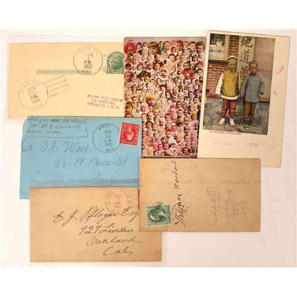 Humboldt County Postal History Group  [130091]