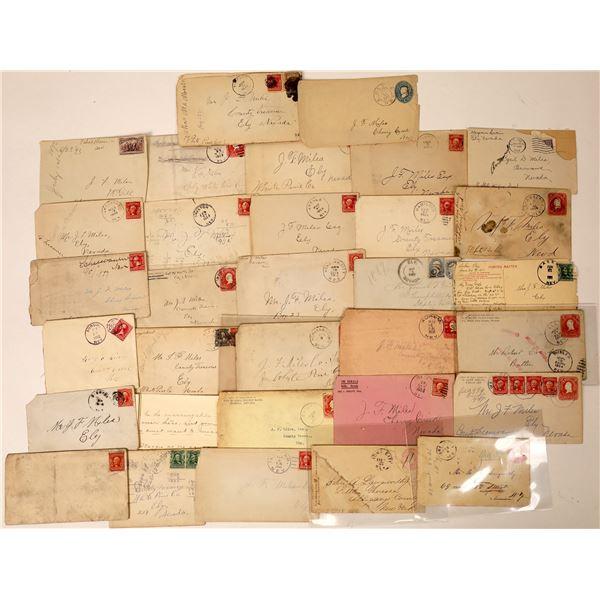 Nevada Postal History Collection, c1904-1908  [130008]