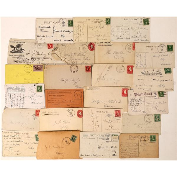 Nevada Postal History Collection, Number 2  [130048]