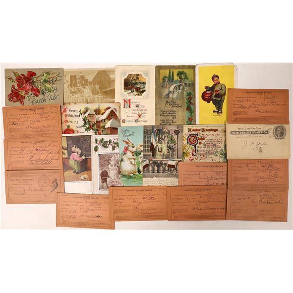 Nevada Postal History Group 3  [130015]