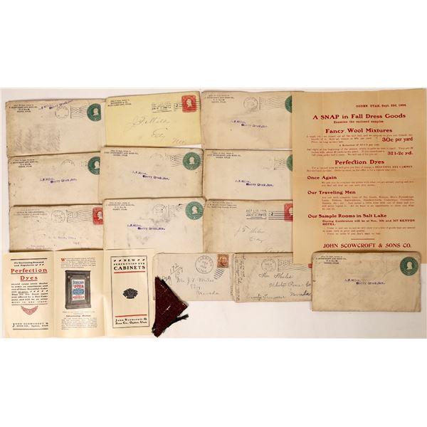 Utah Postal History Collection  [130030]