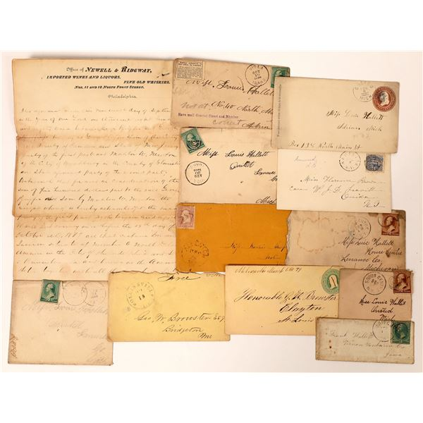 Early Postal History and Letter Collection  [131789]