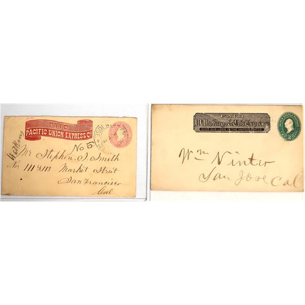 Pacific Union Express and Wells Fargo Express Letters  [132503]