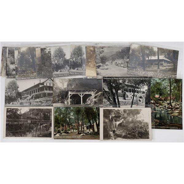 California Hot Springs Postcard Collection  [125879]