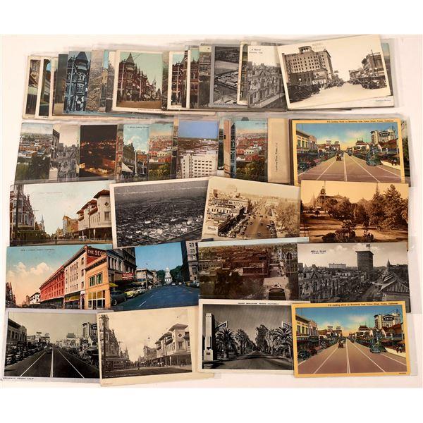 Fresno Street Scene Postcards-50  [126485]