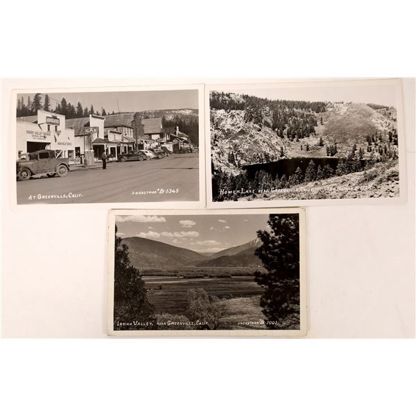 Greenville Real Photo Postcards  [129330]