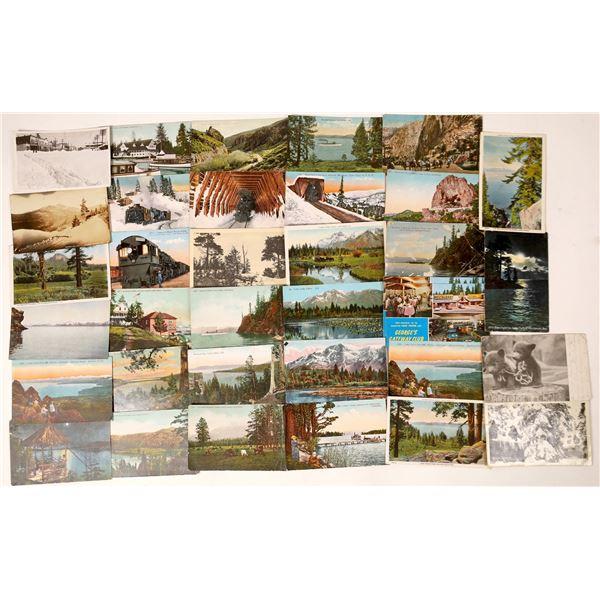 Lake Tahoe Postcard Collection  [130029]