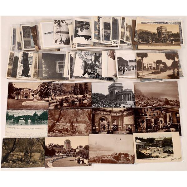 Golden Gate Park Real Photograph Postcard Collection  [126582]