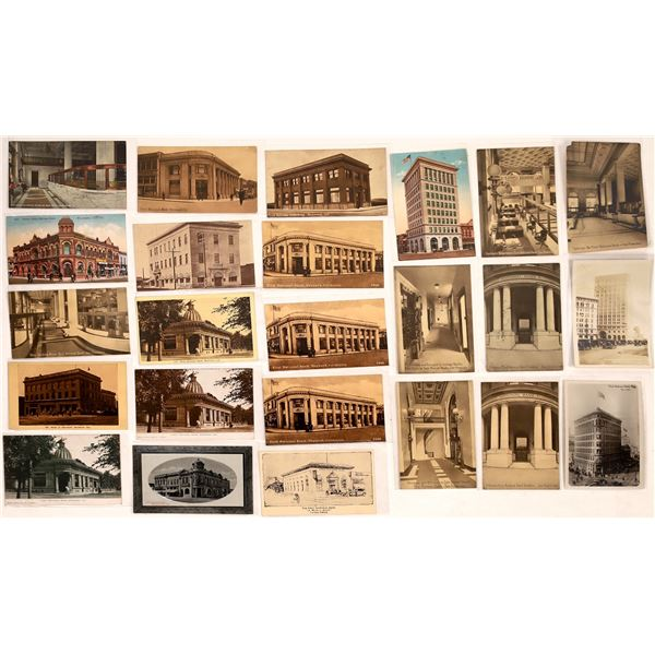 Bay Area National Bank Postcards ~ 24  [126874]