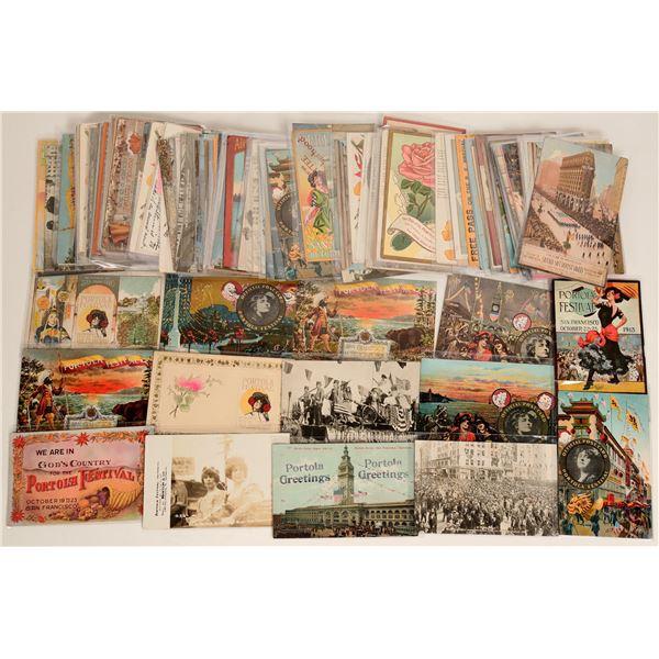 Portola Festival Postcard Collection  [125843]