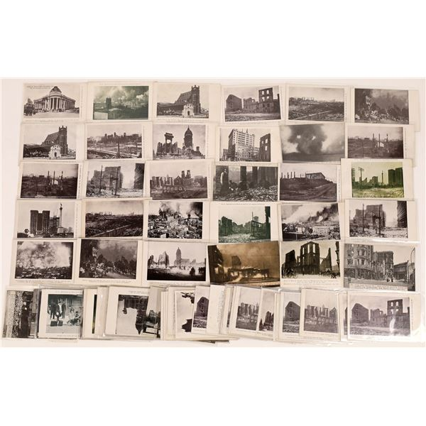 San Francisco Earthquake and Fire Post Card Collection: Rieder, Cardinell & Co.  [124735]