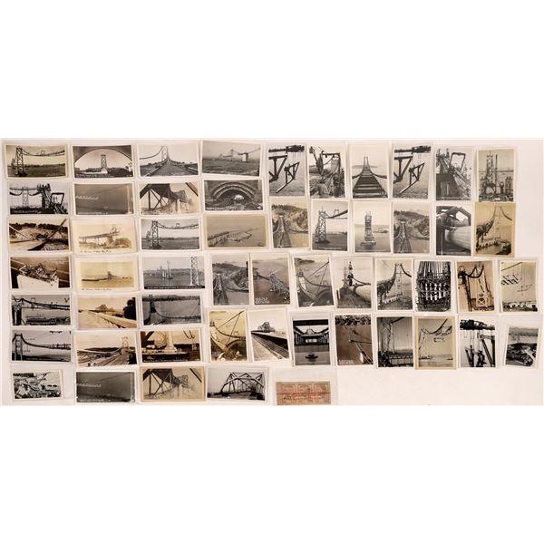 San Francisco Oakland Bay Bridge Construction Post Card Collection  [124730]