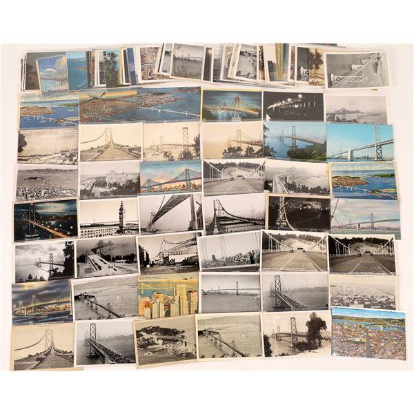 San Francisco-Oakland Bay Bridge Postcard Collection  [124734]