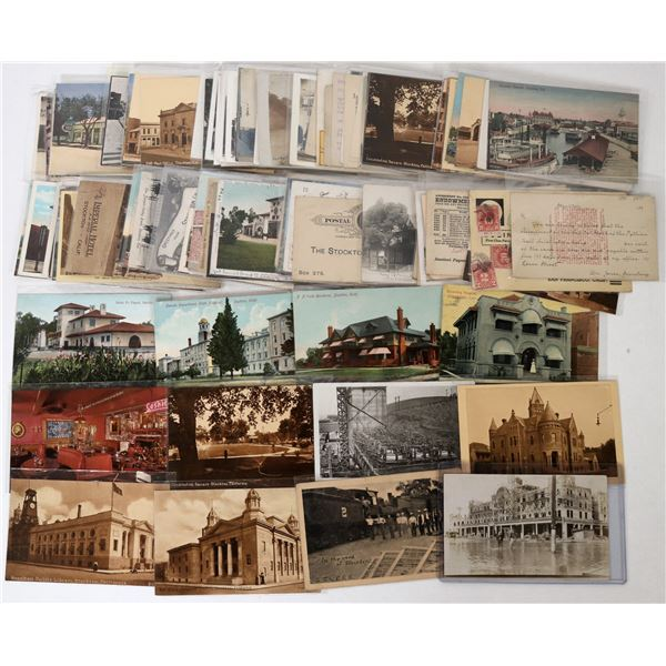 Stockton Postcard Collection  [125876]