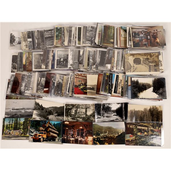Postcards from Humboldt and Mendocino Counties, California  [125624]
