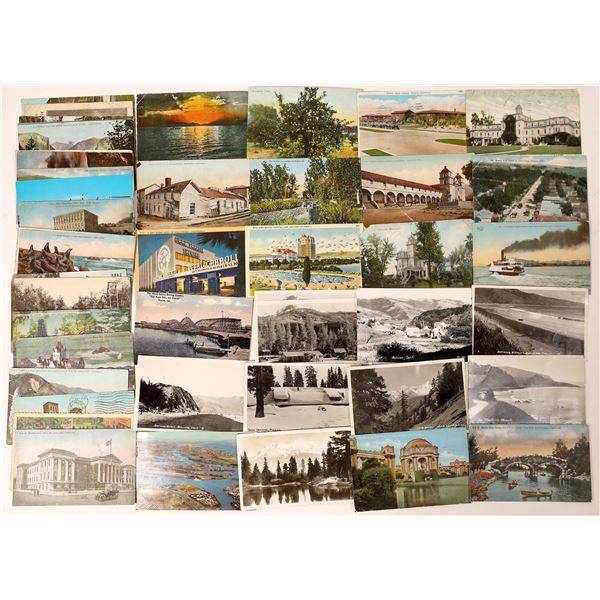 Large California Postcard Collection  [130028]
