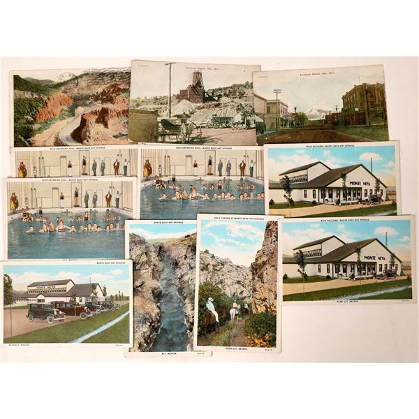 Ely, Nevada Color Postcard Group  [130025]
