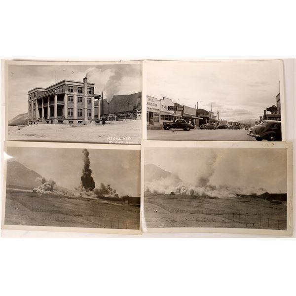 Four McGill, Nevada Black & White RPC's  [130038]