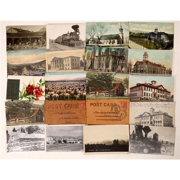Carson City and Minden Area Postcards including RPC's  [130027]