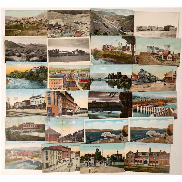 Reno and Virginia City Postcard Group  [130026]