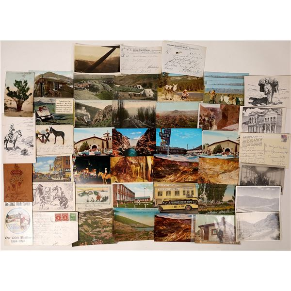 Nevada Postcard Collection – Approximately 50 Cards in All  [130024]