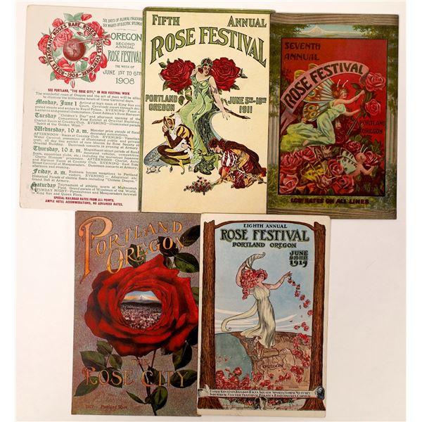 Portland Rose Festival Postcards  [131824]