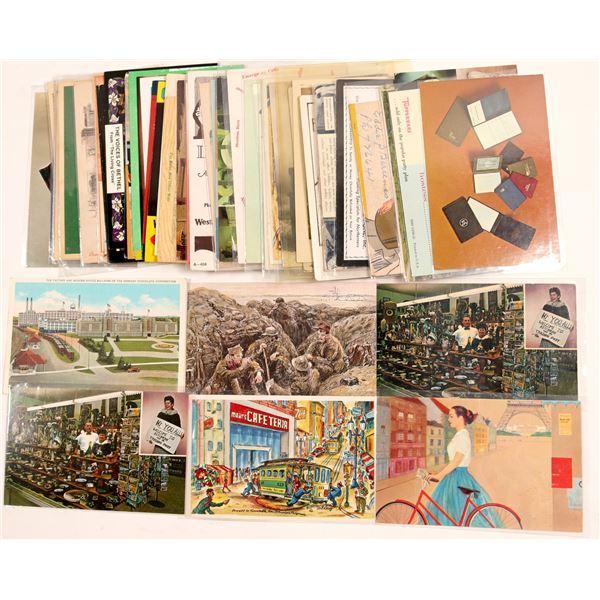 Advertising Postcards  [104971]