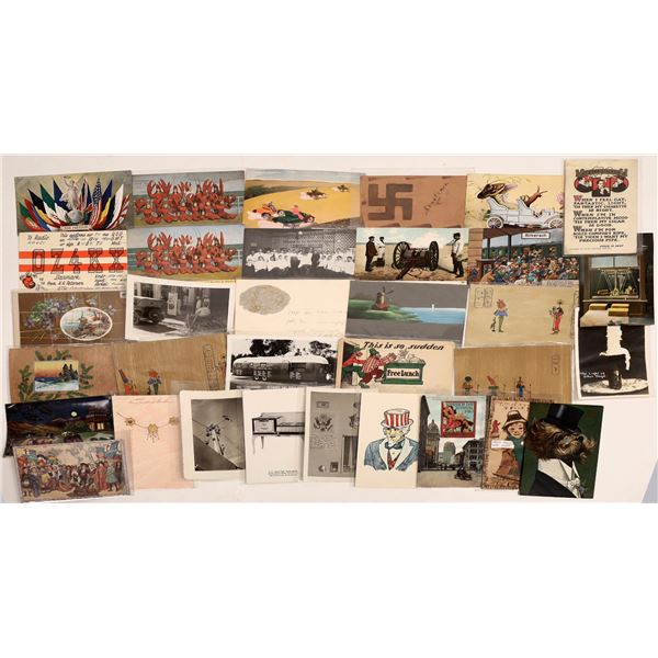 Bizarre Postcard Collection  [132063]