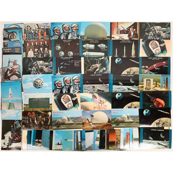 Space Program Postcards 1960's-1970's  [132941]
